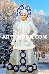 Костюм Снегурочка Алёнушка (От 9500 рублей)