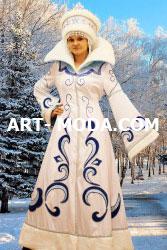 Костюм Снегурочка боярская (От 15000 рублей)