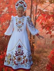Костюм Русский Белый