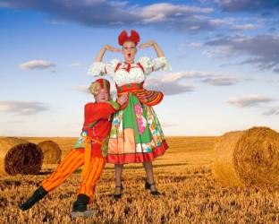 Костюм Солоха И Рыжий  (Сибирский Хор)
