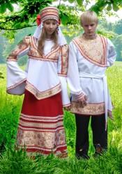 Костюм Русский  Иван До Марья