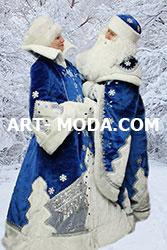 Костюм Дед Мороз и Снегурочка елочка