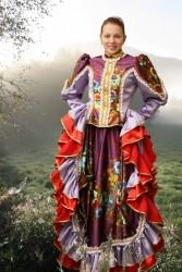 Костюм Казачий с цветком