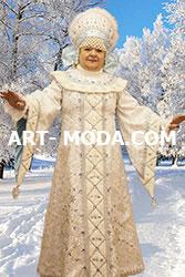 Костюм Зимушка хозяюшка  (От 16000 рублей)
