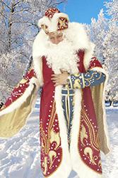 Костюм Дед Мороз ледянной (От 16000 рублей) и Костюм Снежная королева (От 18000 рублей)