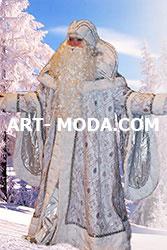 Костюм Дед Мороз снежный