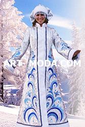 Костюм Снегурочка узорочье  (От 19000 рублей)