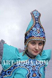 Якутский национальный головной убор